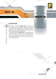 PRISTA® OM - Prista Oil