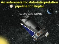 Development of KASOC data-interpretation pipeline: Travis Metcalfe