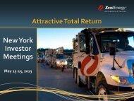 AGA Presentation - Xcel Energy Inc.- Investor Relations
