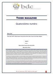 Les Think Tanks au Nigeria - Base de connaissance AEGE