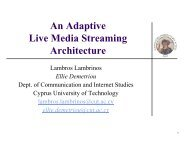 An Adaptive Live Media Streaming Architecture