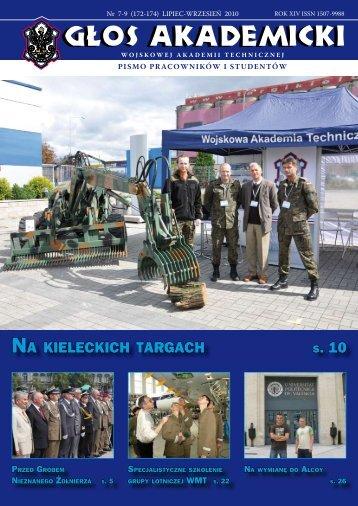 NA KIELECKICH TARGACH S. 10 - Wojskowa Akademia Techniczna