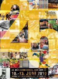 April 2010 - Bücherbummel auf der Kö