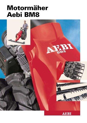 Motormäher Aebi BM8