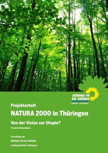 Evaluation der Umsetzung von NATURA 2000 in Thüringen