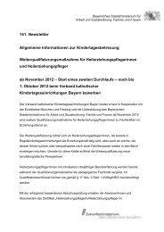 Newsletter 141 vom 11. September 2012 - Bayerisches ...