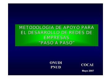 METODOLOGIA DE APOYO PARA EL DESARROLLO DE ... - SELA