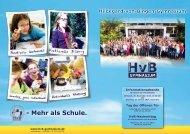 Erprobungsstufenflyer - Hildegard-von-Bingen-Gymnasium