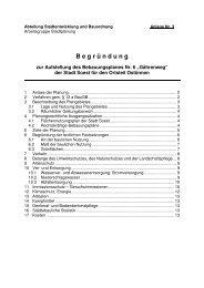 Entwurf Begründung B-Plan Nr. 6 Ostönnen - Soest
