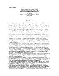 Contract cadru pentru anul 2009