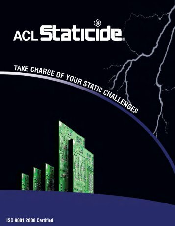 ACL Catalog XIII (2011) - ACL Staticide, Inc.
