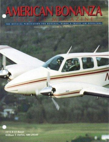 February 1996 - American Bonanza Society