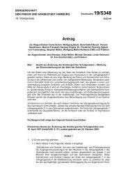 Gesetz zur Änderung des Hamburgischen ... - Wir wollen lernen!