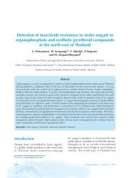 Detection of insecticide resistance in Aedes aegypti to ...