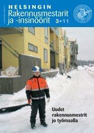 Yhdistyksen jäsenlehti 3/11, PDF tiedosto - Helsingin ...