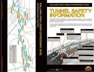 KPE Tunnel Safety Information - English (PDF)