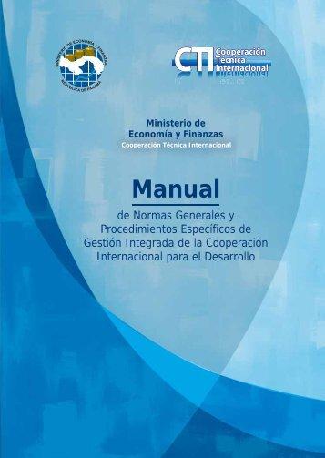 Manual - Ministerio de Economía y Finanzas