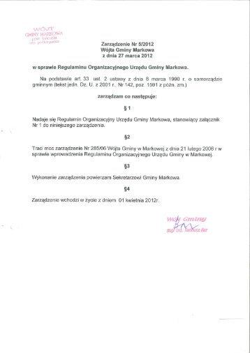 WÓJT - Biuletyn Informacji Publicznej - BIP