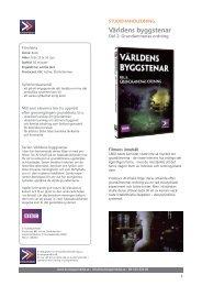 Världens byggstenar - SLI.se