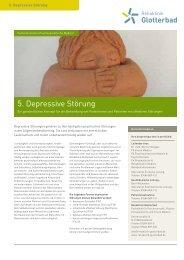 5. Depressive Störung - Rehaklinik Glotterbad