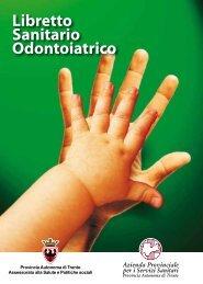 Libretto Sanitario Odontoiatrico - Azienda Provinciale per i Servizi ...