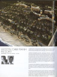 The IWestin Resort and Spa Cam Hanh will be among the first ... - dwp