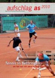 Aufschlag As 2010 - SG Bettringen