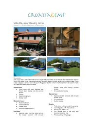 Villa Ra, near Rovinj, Istria - CroatiaGems