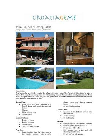 Villa Ra, near Rovinj, Istria - CroatiaGems