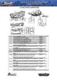 11. TANK, NYEREG, CSOMAGTARTÓ - Moped 91