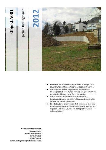 Objekt A 001 - Albershausen