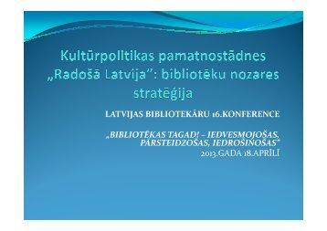 Radošā Latvija - Academia