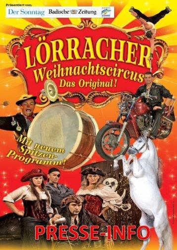 Lörracher Weihnachtscircus 2011-2012-Das Original - RegioTrends