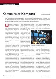 Kommunaler Kompass - K21 media AG