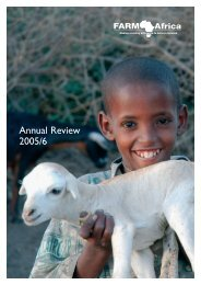 Annual Review 2005/6 - Farm Africa