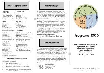 Programm 2010 - Diabetiker-Schweinfurt