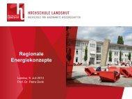 Vortrag PDF - Regionaler Planungsverband Landshut