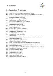5.0 Gesetzliche Grundlagen