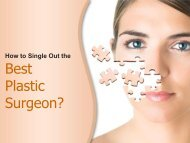 Tips to Choose Plastic Surgeon in Los Angeles