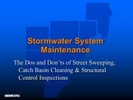 Structural Control Inspections - semcog