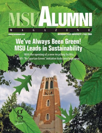 Green - MSU Alumni Association - Michigan State University