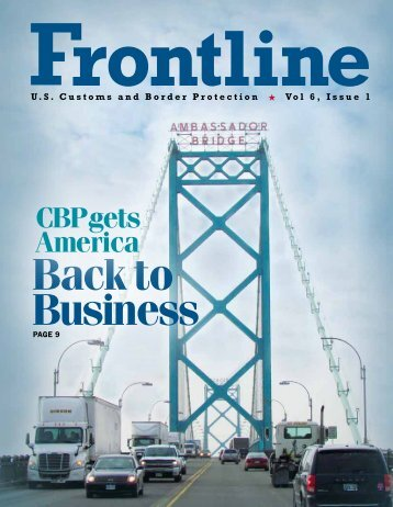 Vol. 6, Issue 1 - CBP.gov