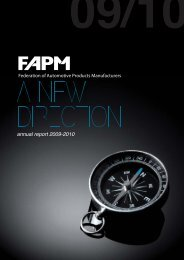 FAPM Annual Report for 2009-2010 here