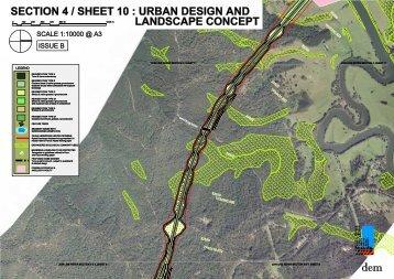 Urban Design and Landscape Concept - RTA