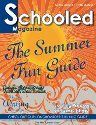 May 2007.indd - Schooled Magazine