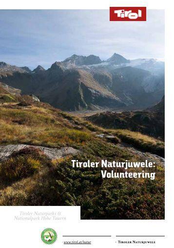 """Tiroler Naturparks & Nationalpark Hohe Tauern ... - Naturpark Ötztal"