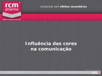 Influência das cores na comunicação - RCM Pharma