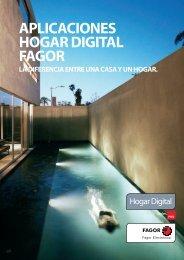 Catálogo Aplicaciones Hogar Digital - Fagor Electrónica