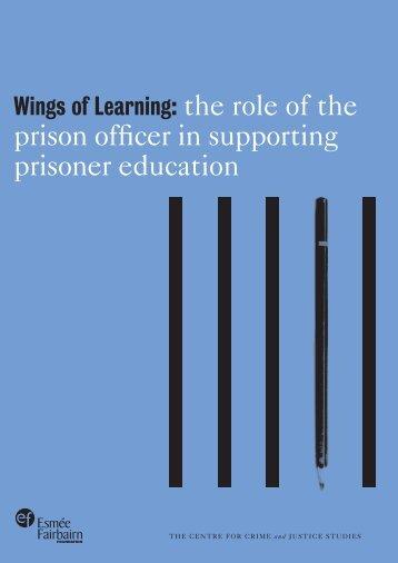 Wings of Learning - Esmée Fairbairn Foundation