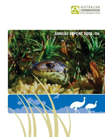 Annual Report 2005-06 - Australian Conservation Foundation